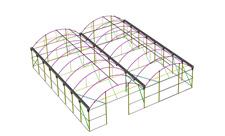 Isométrica de estructura P-8
