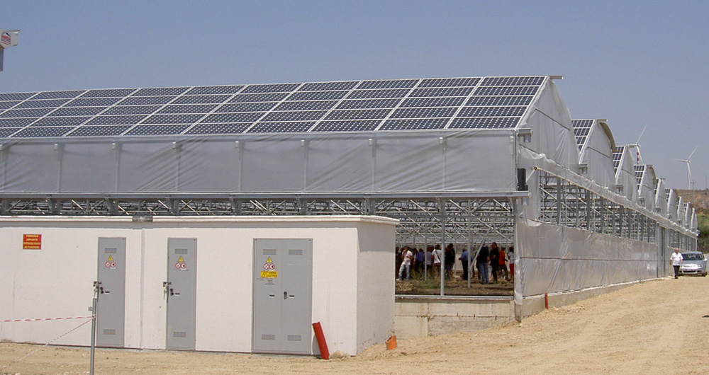 Invernadero Fotovoltaico
