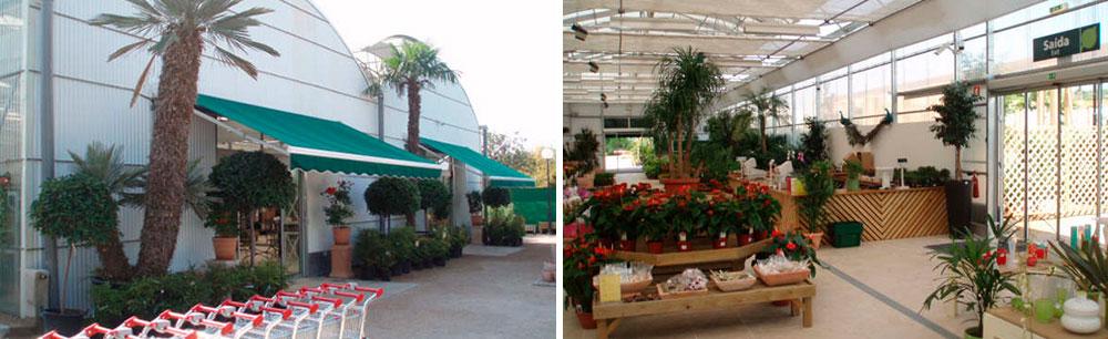 Exterior e interior Centro de Jardinería