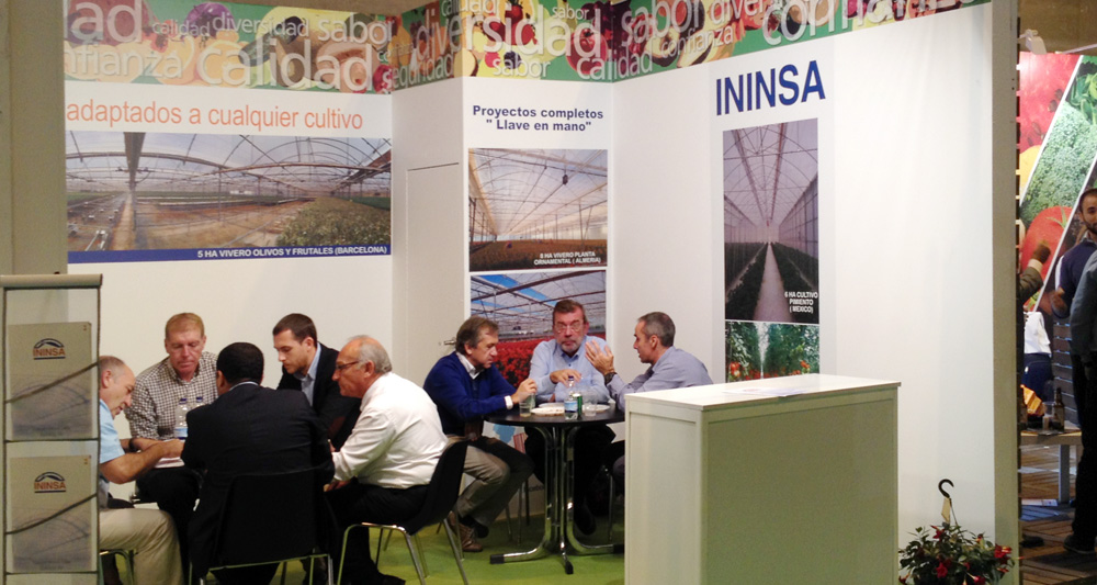 ININSA expone en Fruit Attraction 2016