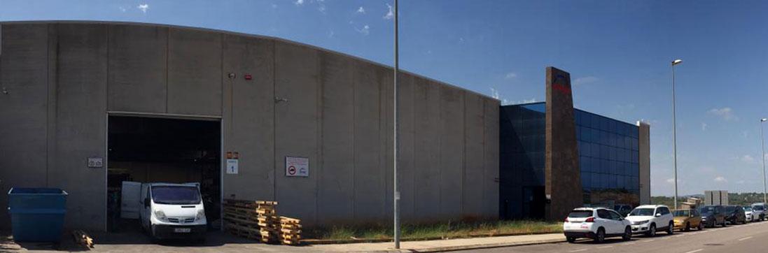 Fábrica de invernaderos ININSA
